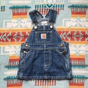 Carhartt baby girl overall dress